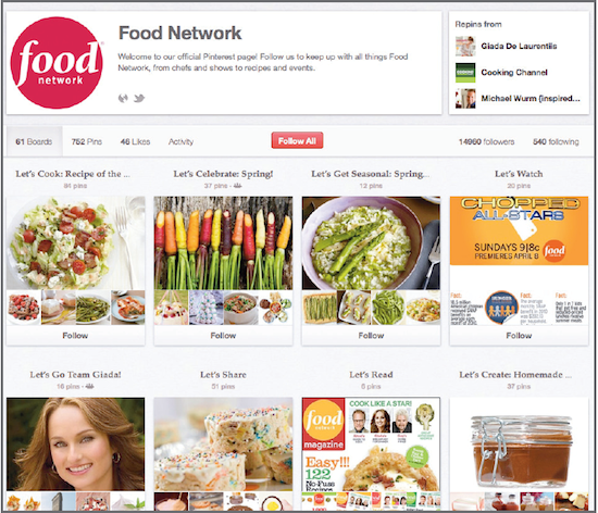 Food Network promotes healthy lifestyles