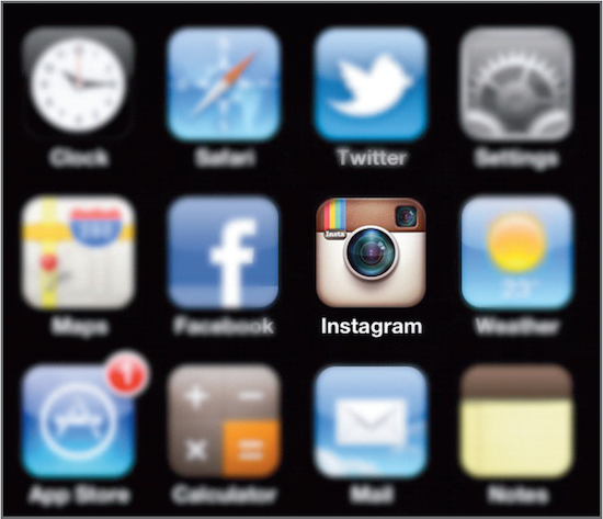 Instagram is available on portable devices