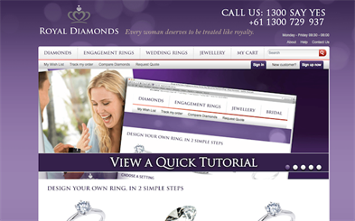 "Royal Diamonds staff said the price of the ring was incorrect due to a ""typing error"""
