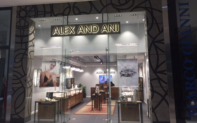 The 'concept' store is one of nine Alex and Ani company-owned retail outlets to open in the lead-up to Christmas