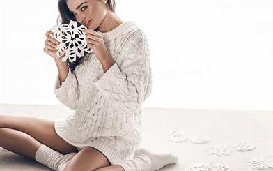 Retail industry bodies have predicted that sales during the Christmas trading period will top last year's figures. Image: Miranda Kerr for Swarovski