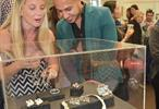 The One Night Under the Lights exhibition helped to promote the work of jewellery students