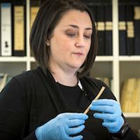 Dr Michelle Langley, ANU researcher. Image courtesy: Australian National University
