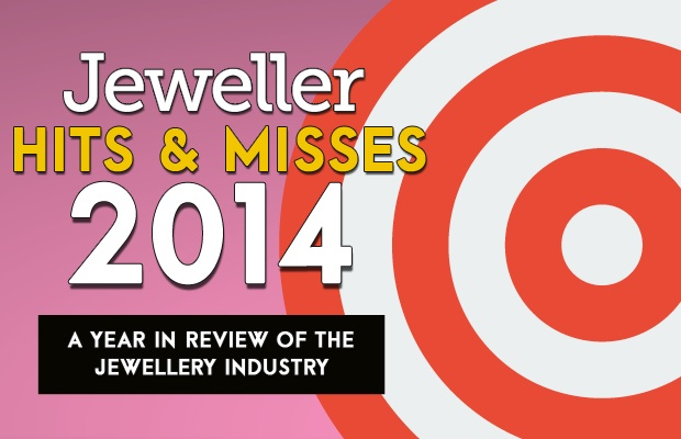 <em>Jeweller</em> looks at the <em>Hits & Misses</em> of the jewellery industry in 2014