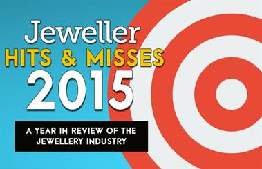 <em>Jeweller</em> looks at the <em>Hits & Misses</em> of the jewellery industry in 2015