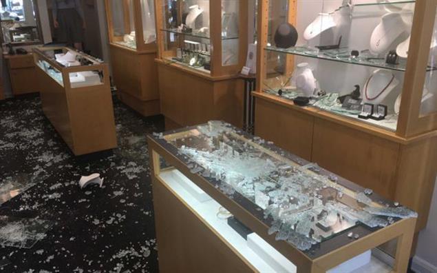 IMP Jewellery, Toorak. Image courtesy: ABC News