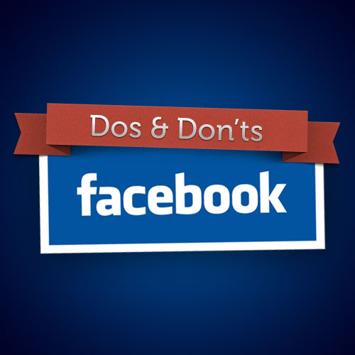 Jeweller's list of Facebook Page Dos and Don'ts