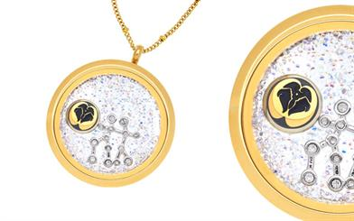 Love Lockets' 24-carat gold-plated locket