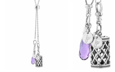 One of Fabuleux Vous' Fae chains with interchangeable pendants