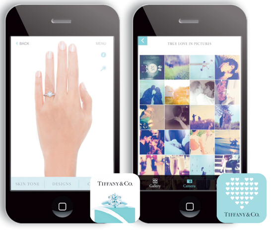 Tiffany & Co (Engagenment Rings App and what makes love true)