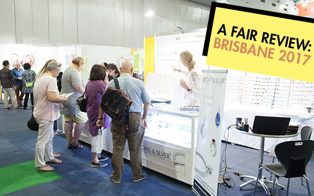 Despite being a smaller-sized show, the Australian Jewellery Fair was met with positivity