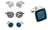 A selection of Jos Von Arx cufflinks