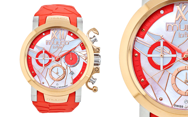 Mulco Watches Australia's La Fleur Ave del Paraiso watch