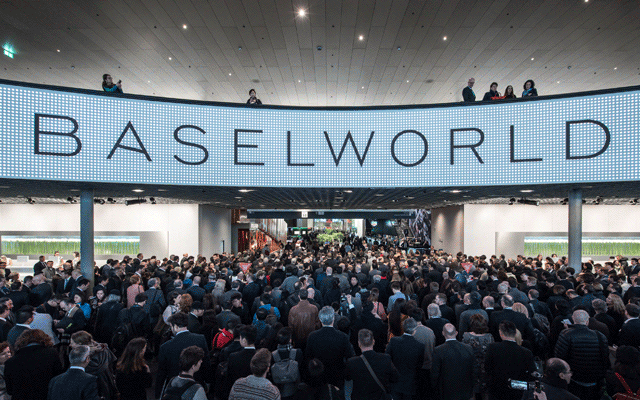 After this year's Baselworld, organisers announced they would reduce the duration of the 2018 show. Image courtesy: Baselworld