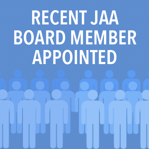 The JAA has appointed a new board director after the position was recently vacated