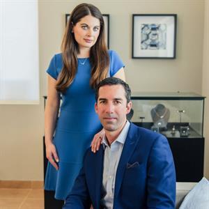 Jason Payne and  Lindsay Reinsmith, Ada Diamonds founders. Image courtesy: Ada Diamonds