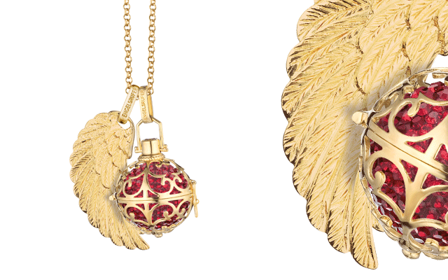 Engelsrufer's gold-plated sterling silver pendant