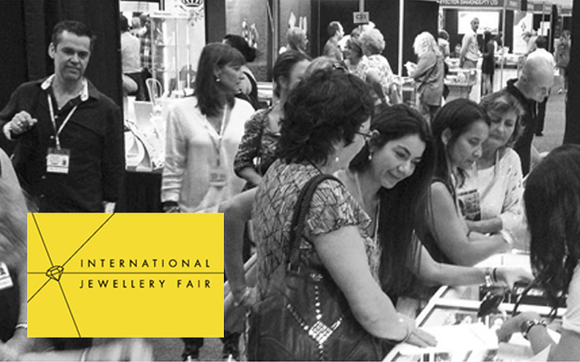 International Jewellery Fair exhibitor numbers have exceeded those of the past three years