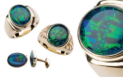 Paterson Fine Jewellery's rings and cufflinks