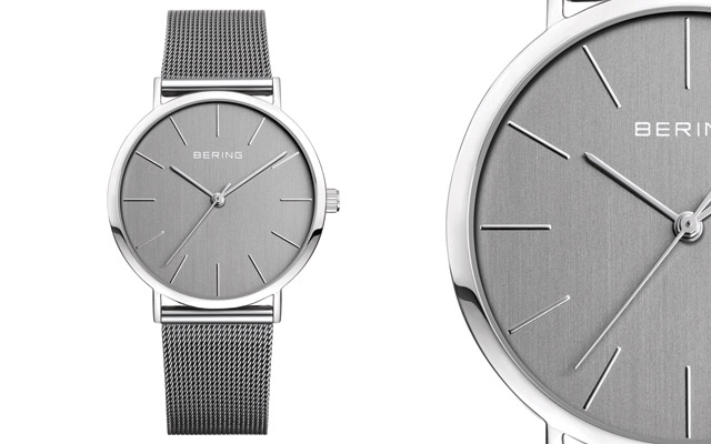 Bering's Mirror Finish timepiece