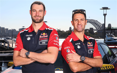 TW Steel is the official timekeeping partner for the Red Bull Holden Racing Team