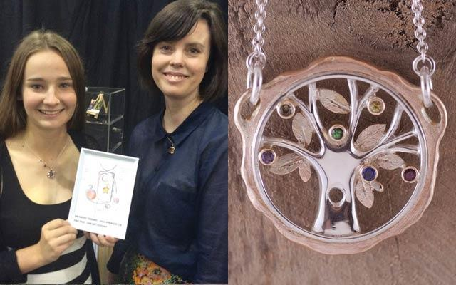To Hold & To Have recently sponsored a student jewellery design competition.