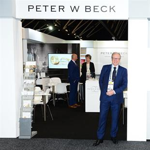 Peter W Beck had a new stand design