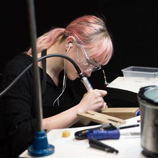 WorldSkills jewellery competitions also took place on the show floor