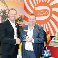 DGA was awarded best large stand