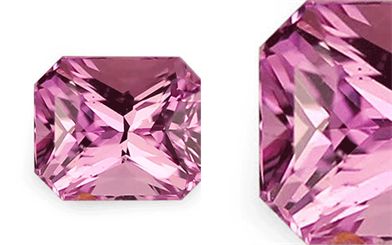 Deliqa Gems' mid-pink natural sapphire