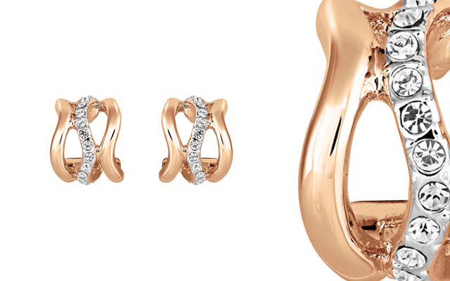 Buckley London's Bayswater collection hoop earrings