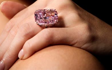 An upcoming auction will play host to the world's largest fancy intense pink diamond