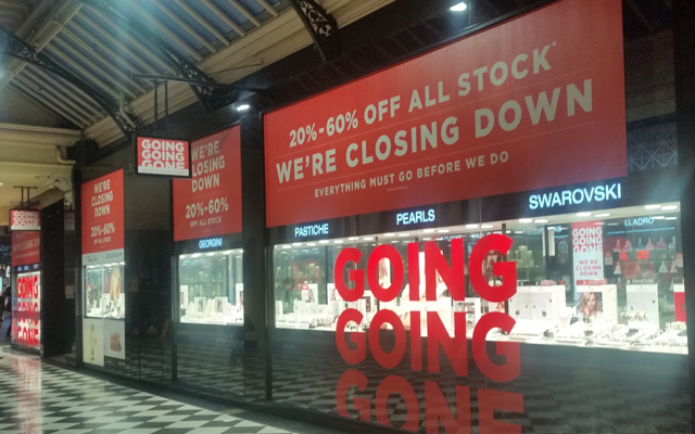 All Thomas Jewellers stores will close in the upcoming months