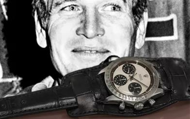 A watch owned by Hollywood star Paul Newman has sold for a world-record cinching price