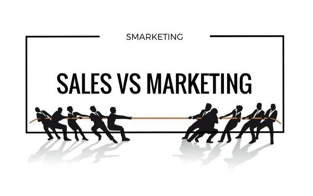 Waging war: marketing vs sales