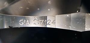 """The inscription on the diamond was deemed as """"blatant fraud"""""""