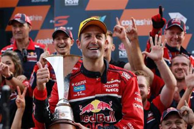 Red Bull Holden Racing team driver Jamie Whincup