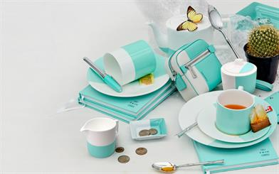 "One of Tiffany & Co's latest initiatives includes the opening of The Blue Box Cafe. Image courtesy: <a href=""http://www.tiffany.com/accessories"" target=""_blank"">Tiffany & Co</a>"
