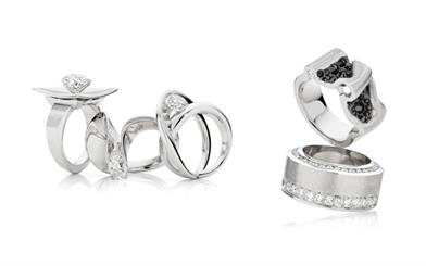 Some of the finalist pieces which will be featured in this year's Diamond Guild Awards