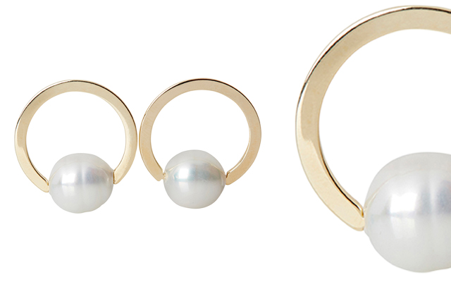 Firucci's Spanish Mallorcan pearl earrings