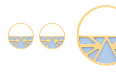 Les Georgettes' customisable Les Essentialles earrings