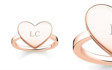 Thomas Sabo's Love Bridge signet ring