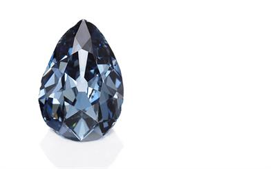 A blue diamond that has belonged to European royalty for three centuries is being auctioned next month