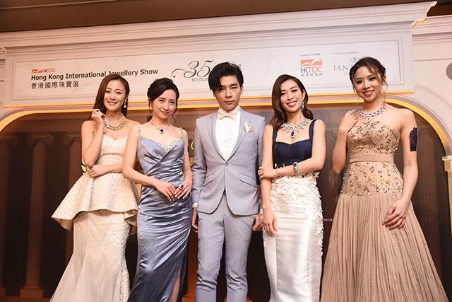 Models at the Opening Night Gala Dinner