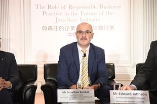 Jonathan Kendall, vice president of Forevermark
