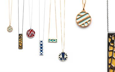 Les Georgettes' customisable necklaces