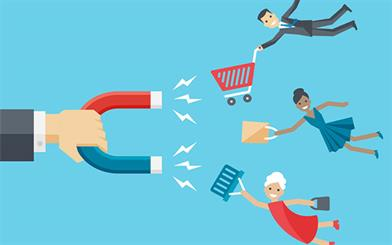 Retailers don't have to spend a ton to attract new customers