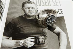 A Rolex watch gifted by actor Steve McQueen is for sale in New York