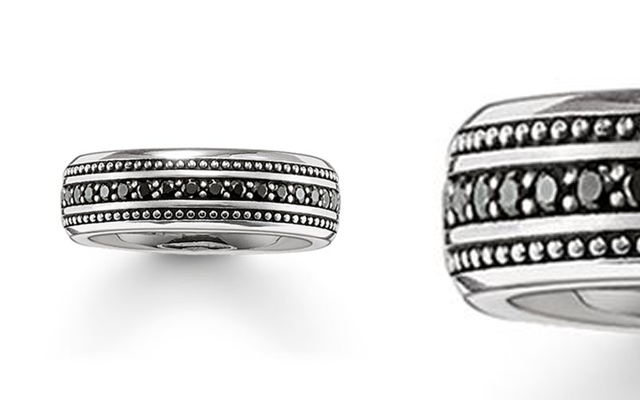 Thomas Sabo's sterling silver Eternity Ring