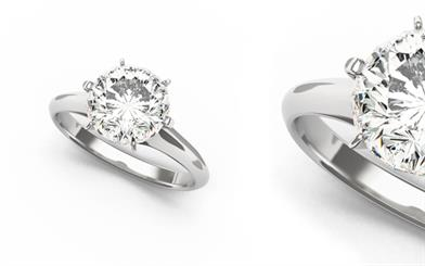 Isaac Jewellery's diamond wedding ring.